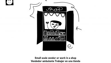 Working as a small-scale vendor / © Kindernothilfe/mañana kreativbüro
